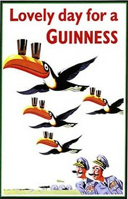 """Nice """"Guinness"""" Ad- Poster 11 by 17 glossy"""