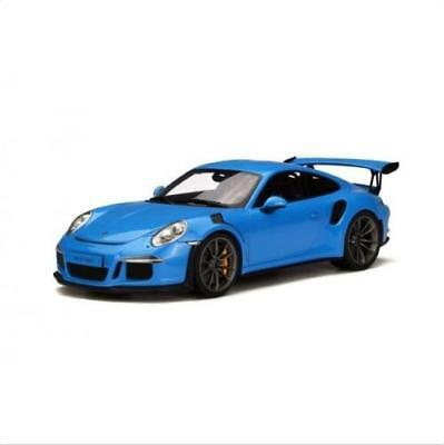 1/18 GT SPIRIT GT139 Porsche 911 991 GT3 RS BLUE resin model car FREE SHIPPING