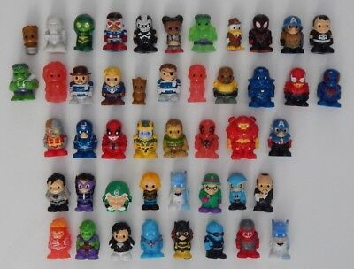 New ~ Series 3 + 4 ~ Dc Comics + Marvel Ooshies ~ Select Your Ooshie ~ Free Post