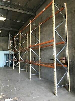 Pallet Racking Uprights Warehouse Used