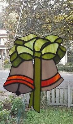 **BELLS** Stained Glass Hanging