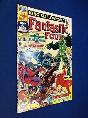 Fantastic Four Annual #5 (1967 Marvel) 1st appearance of Psycho-Man NO RESERVE