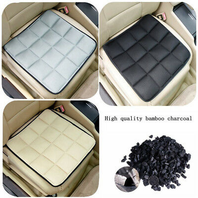 Bamboo Charcoal Breathable Seat Cushion Cover Pad Mat For Car Office Chair IW