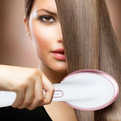 One Step Hair Dryer and Styler Hot Air Paddle Brush Negative Ion GeneratTL