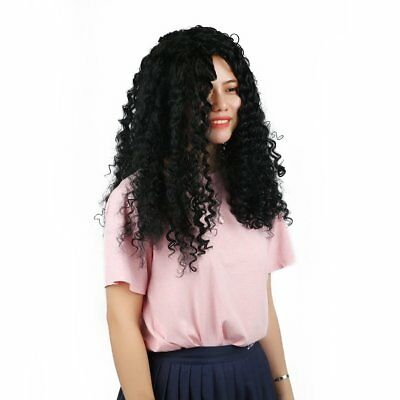Full Head Wig Lady Women Hairpiece Long Curly Hair Wave Synthetic HaTL