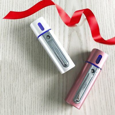 USB Rechargeable Compact Size Office Travel Nano Spray Mist Facial SteamTL