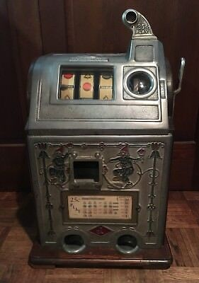 1929 Jennings Dutch Boy Quarter Play Slot Machine