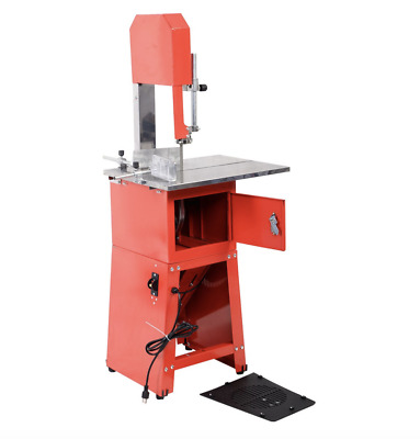 Heavy Duty Meat Saw Electric Butcher Game Professional Processing Grinder Stand