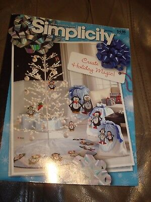 Simplicity Pattern Catalog Holiday 2007