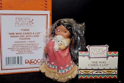 Enesco Friends of the Feather 'She Who Cares A Lot' #115630 - NIB