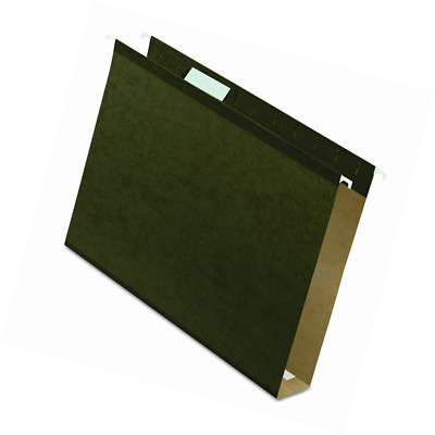 """Pendaflex Extra Capacity Reinforced Hanging File Folders, 2"""", Letter Size, Stand"""