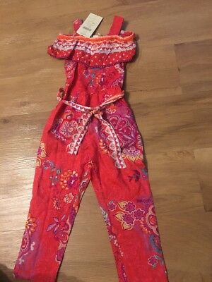 Girls Trouser Play Suit Age 4yrs NEW!