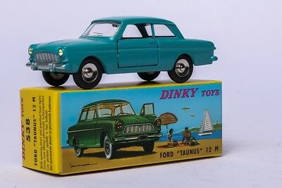 "Alloy Diecast Car Model Toy Model Atlas 1/43 Dinky Toys 538  Ford ""taunus"" 12 M"