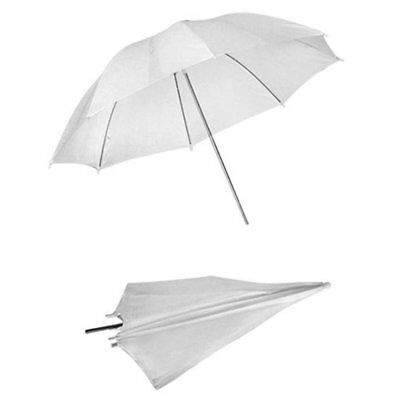 "33"" 83cm White Reflector Photo Studio Photography Lighting Soft Flash Umbrella U"