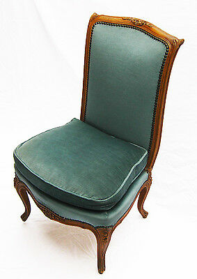French  Louis XV style upholstered Slipper chair
