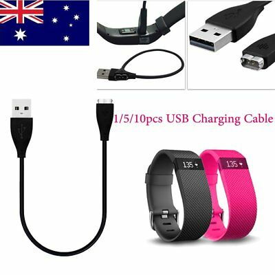 USB Charger Charging Cable For Fitbit Charge HR Wireless Activity Wristband E#