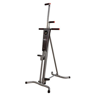 Maxi Climber Exercise Stepper Cardio Unisex Vertical Climbing Fitness Machine UK