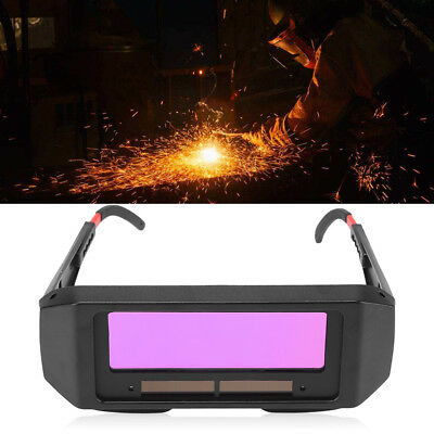 Portable Solar Auto Darkening Welding Glasses Arc TIG MIG Welder Eye Goggles