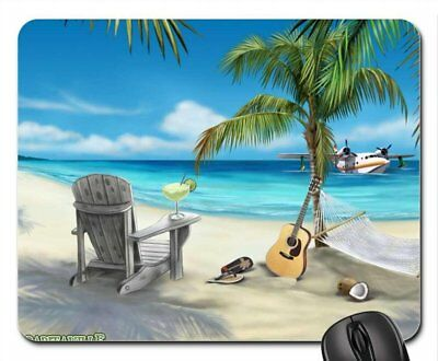 MARGARITAVILLE Mouse Pad, Mousepad Beaches Mouse Pad by Rock Bull