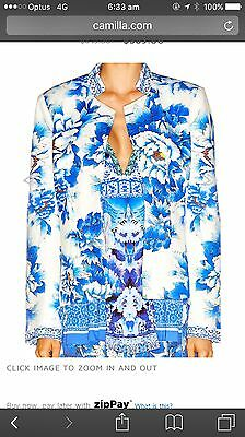 Camilla Ring Of Roses Jacket RRP $699 Size S