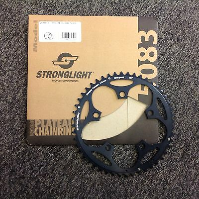 Stronglight  44T 110 BCD Black Chainring
