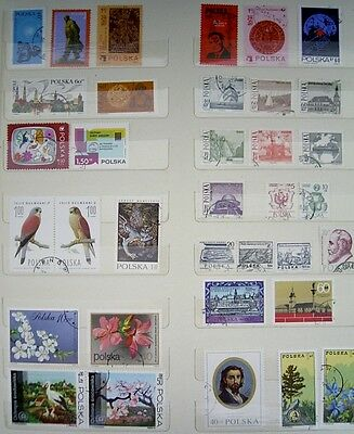 Assorted - POLAND / POLSKA - USED - Postage Stamps - Approx 35 stamps - lot 2