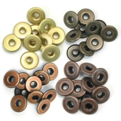 WeR Memory Keepers Crop-A-Dile 40 Eyelets,0,5 mm,4 Farben,Ösen,41595-4