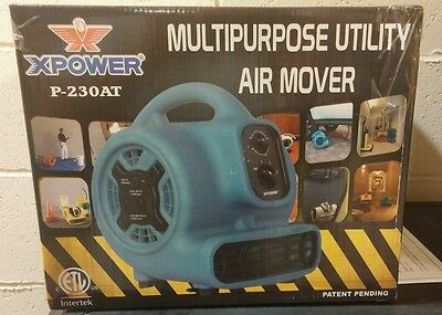 XPOWER P-230AT - 1/5 HP - 800 CFM - 3 Speeds Mini Air Mover
