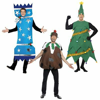 Adults Mens Novelty Christmas Fancy Dress Funny Costume Xmas Work Party Stag M/L