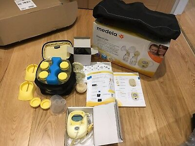 Medela Freestyle Double Electric Breast Pump and Extras