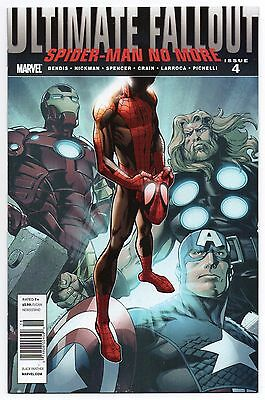 ULTIMATE FALLOUT #4 | 1st Print | 1st Miles Morales RARE Newsstand Variant | VF+