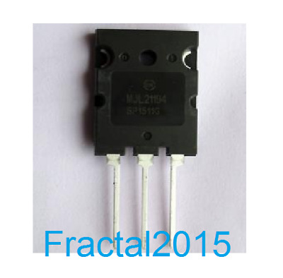 10PCS MJL21194G Encapsulation:TO-3P,16 AMPERE COMPLEMENTARY SILICON POWER