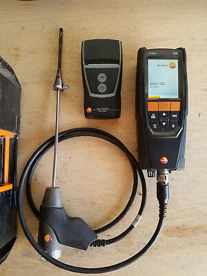 Testo 320 Combustion Analzyer with Printer! Works GREAT! Under Calibration!
