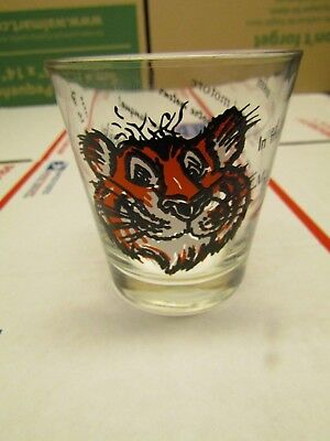 ESSO Tony The Tiger Vintage Advertising Glass
