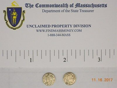 (2) Miniature Coins Us