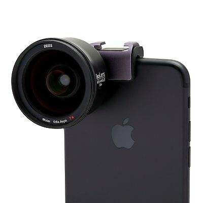 ExoLens PRO with Optics by ZEISS Wide-Angle Kit for iPhone 7, 6/6S, 6 Plus/6S Pl