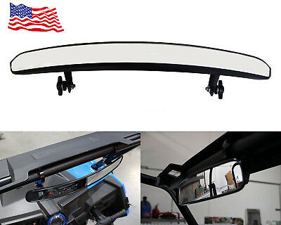 Opar 15'' Side by Side Mirror UTV -- Wide Rear View Race Mirror Convex Mirror