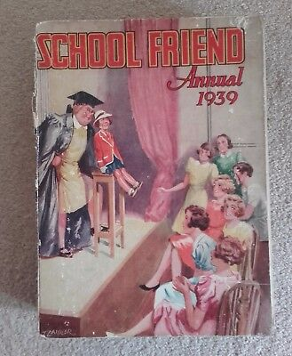 Vintage & hard to find School Friend Annual 1939