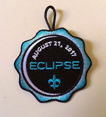 Boy Scout Official 2017 ECLIPSE PATCH  SOLD OUT!! Great for collectors!!