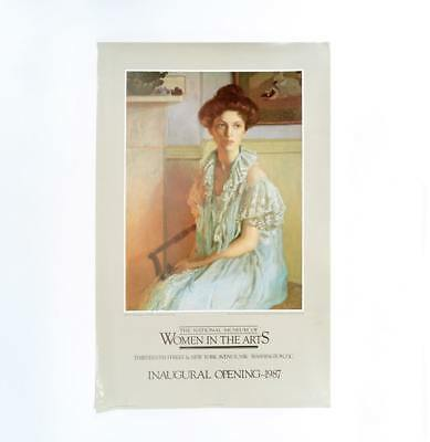 "Rare 1987 Inaugural Museum Poster ""the National Museum Of Women In The Arts"""