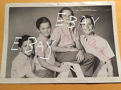 The Osmond Brothers Original Personal Photograph Postcard 1964 Wayne Osmond