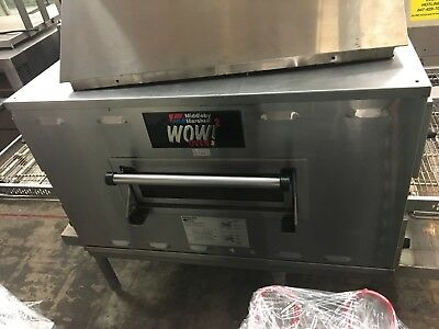 Middleby Marshall WOW! 2 Direct Gas Fired Conveyor Oven Model PS636G STD (as is)