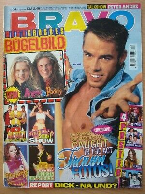 BRAVO 34 1996 Worlds Apart Metallica Blümchen No Mercy Robbie Williams Kellys