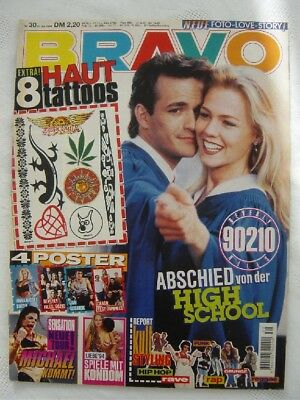 BRAVO 30 1994 Michael Jackson Anna Nicole Smith Beverly Hills 90210 Jan Sosnik