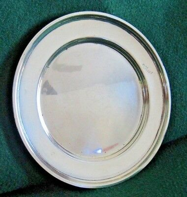 """Manchester Sterling Silver Bread and Butter Plate 6"""" Diameter"""