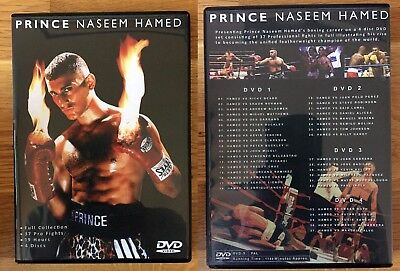 Prince Naseem Hamed - Boxing - Complete Fight Collection - DVD Set
