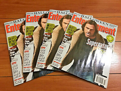 Jared Padelecki Supernatural - Entertainment Weekly Magazine October 2017 - New