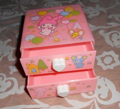 Sanrio My Melody Trinket Box With 2 Drawers