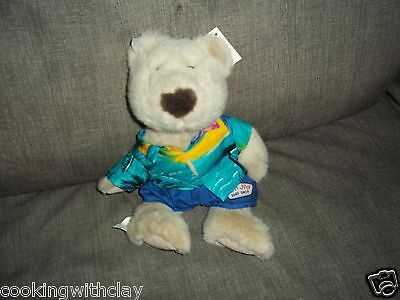 New Ron Jon Surf Shop Plush Doll Figure Water Sport Gnarly Man  Teddy Bear Toy