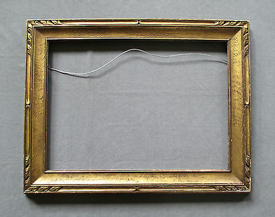 """Vintage Arts and Crafts Carved Picture Frame, Newcomb Macklin Style Fits 22""""x16"""""""